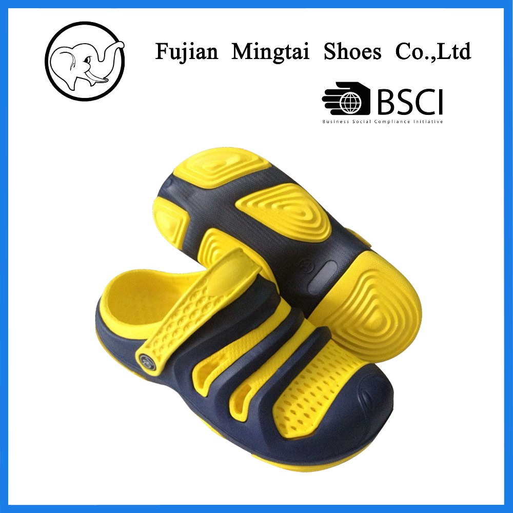 Professional factory made customized design for men fashion EVA garden shoes clogs