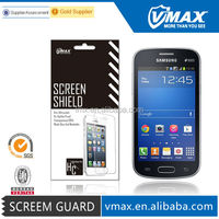 Cell Phone / Mobile phone screen protector for Samsung Galaxy star pro S7262 oem/odm (Anti-Fingerprint)