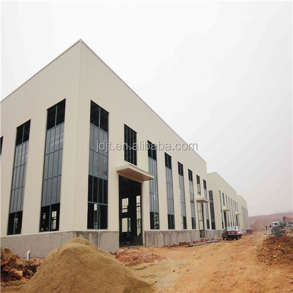 Ready made good quality steel frame structure warehouse