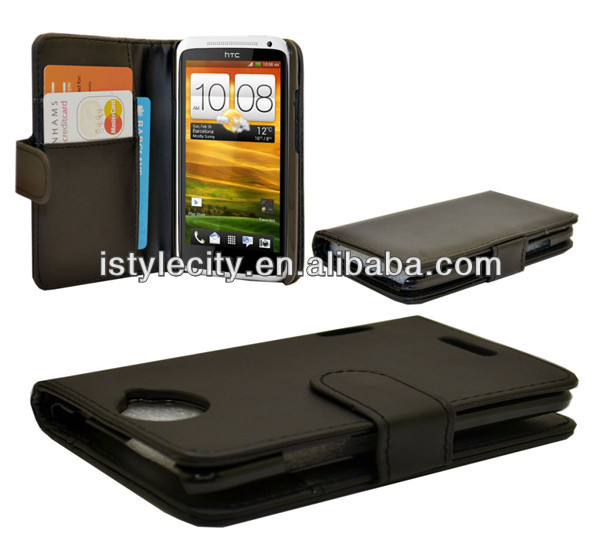 Wallet Flip Case Cover For HTC One X and X Plus