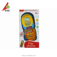 Baby electronics kids items toy iphone plastic mobile phone toy for sale