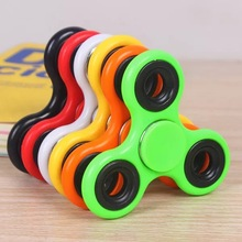 Customized Finger Spinner Metal ABS Plastic Fidget Spinner Toy