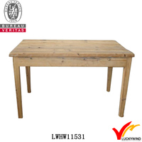 hand carved rough natural antique wooden kitchen table