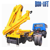 used barges small electric crane man lift truck for sale