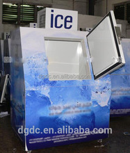 380L outdoor bagged ice merchandise/ice storage bin