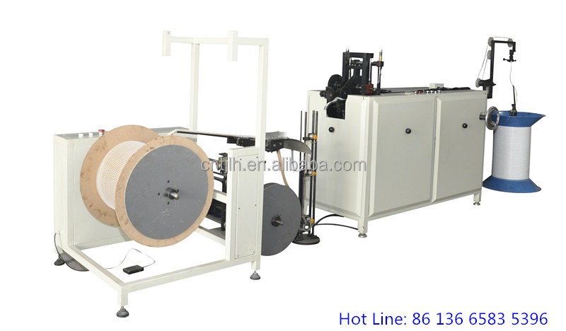 Double Wire Forming Machine,Double coil make-up machine,Double Wire Forming and Binding Machine
