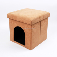 Dog house dog cage pet house ottoman foldable storage house