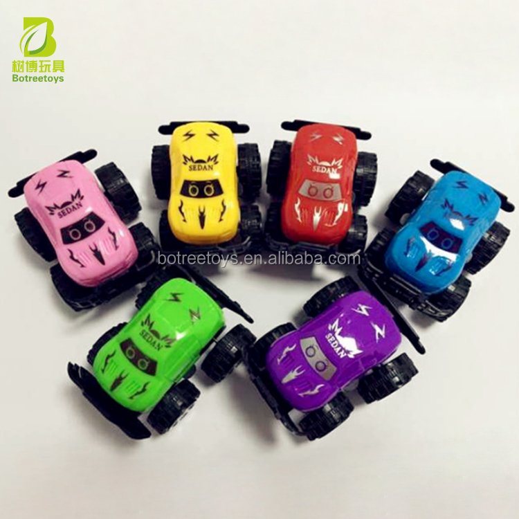 Plastic Off-road Pull Back Car Return Power Friction Toys for Kids
