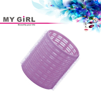 MY GIRL Diy hair curlers cling any size big self grip hair rollers