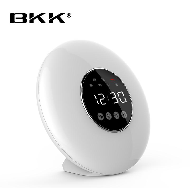 LED Capteur Tactile Réveil Lumière Réveil Numérique avec Haut-Parleur BT Lampe (J12) - ANKUX Tech Co., Ltd