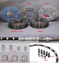 high quality diamond wire saw for quarry bottom cutting
