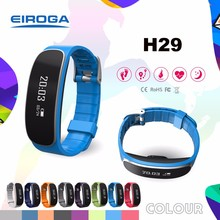 IOS/Android phone tracker heart rate monitor wristband Water proof bracelet GPS sport health watch