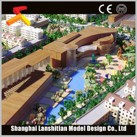 miniature model house making for real estate and construction