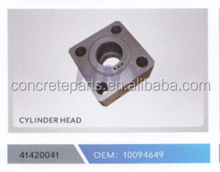 high performance cylinder head for concrete pump truck