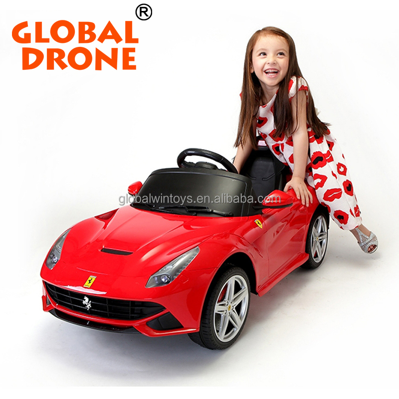 GLOBAL DRONE wholesale kids toys licensed electric ride on rc toy car 81900