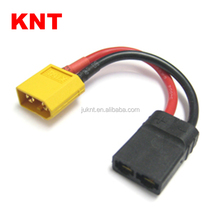 KNT KT-80721A Battery Conversion Cables RC connector XT60 male to Traxxas female plug Conversion Adapter wire For RC Car /Truck