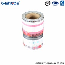 Custom Printing Wholesale China Manufacturer Food Packaging Plastic Roll Film For Cake