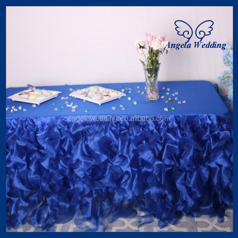 Cl010b New Fancy 100 Polyester Wedding Navy Blue Or Royal