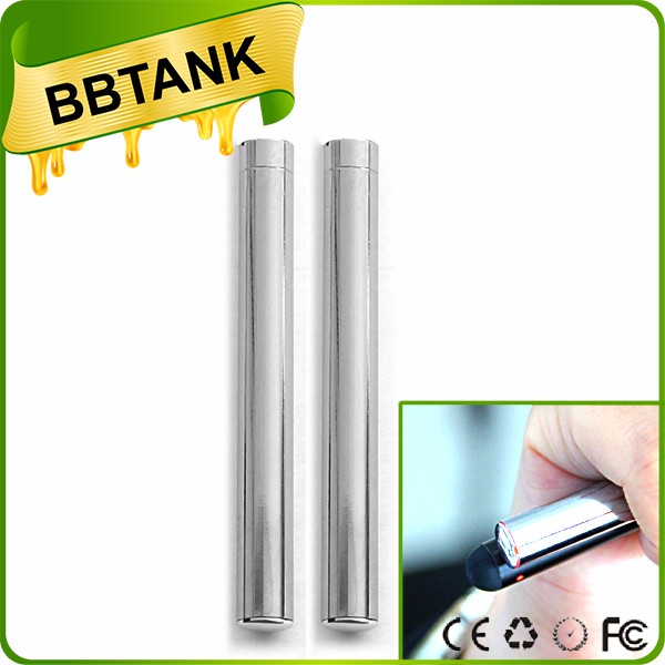 New packaging 510 thread Metal mouthpiece bb tank Vape pen oil tank vaporizer automizer e cigarette
