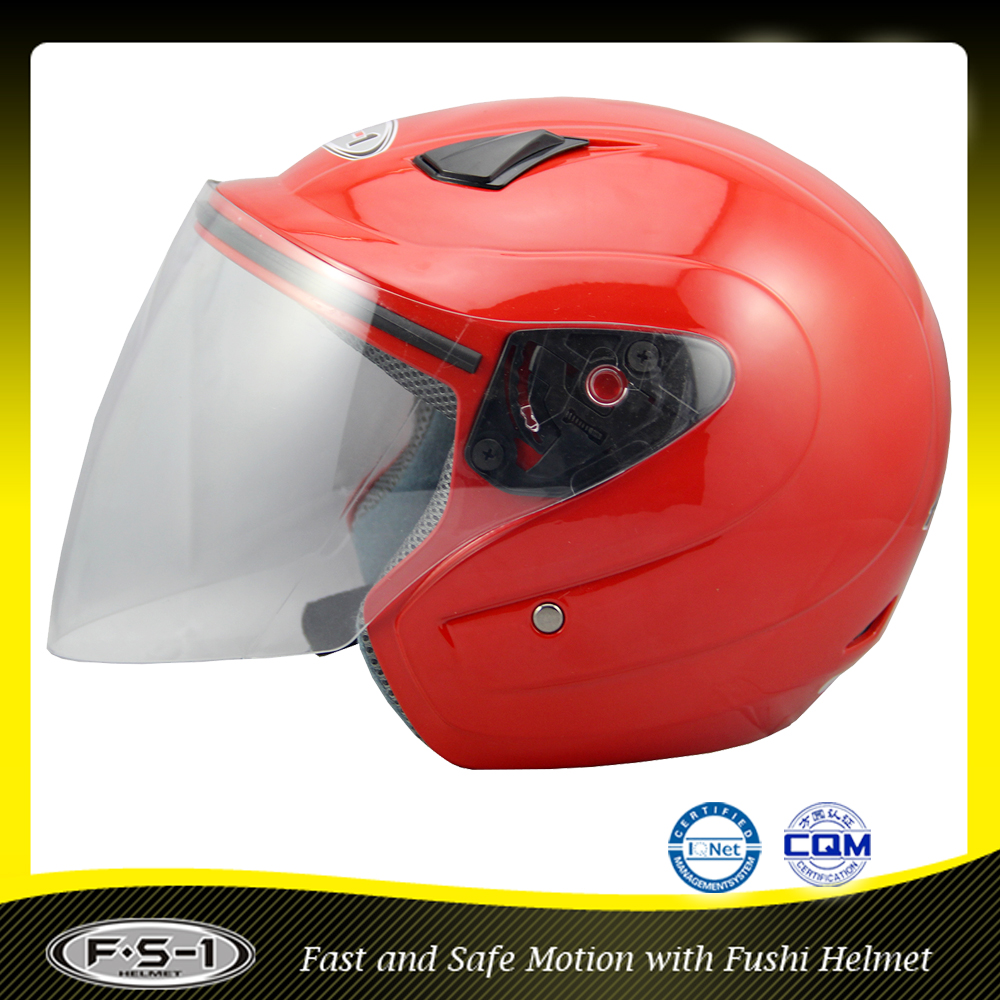 ECE approved personalized open face motorcycle helmets for full face type helmet