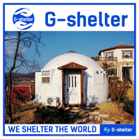 easy install prefab emergency tent house made in China