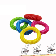 Anti- Mosquito Repellent Bracelet Anti Mosquito Bug Pest Repel Wrist Band Bracelet Insect Repellent Mozzie Keep Bugs Away Mixed