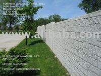 Fortress Concrete Fence/Wall- STAND ALONE CONCRETE FENCE