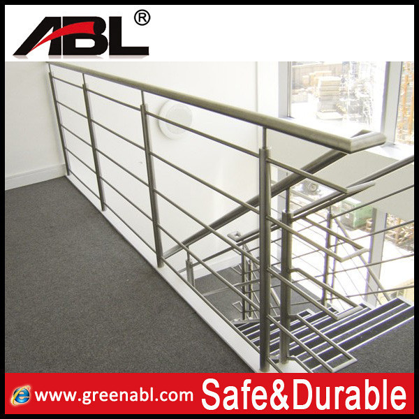 Stainless steel tubular handrail for stairs buy handrail for Terrace tubular design