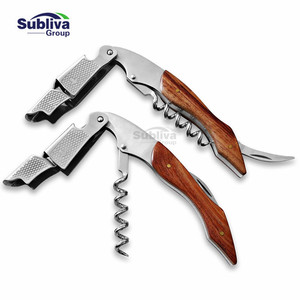 Pulltap Wine Bottle Openers Easily Use Custom Wooden Handle Corkscrew corkscrew wine bottle opener