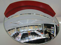 acrylic convex mirror for indoor and outdoor