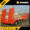 Hot sale 300ton heavy duty low bed trailer with dolly (lowboy)(dimension optional)