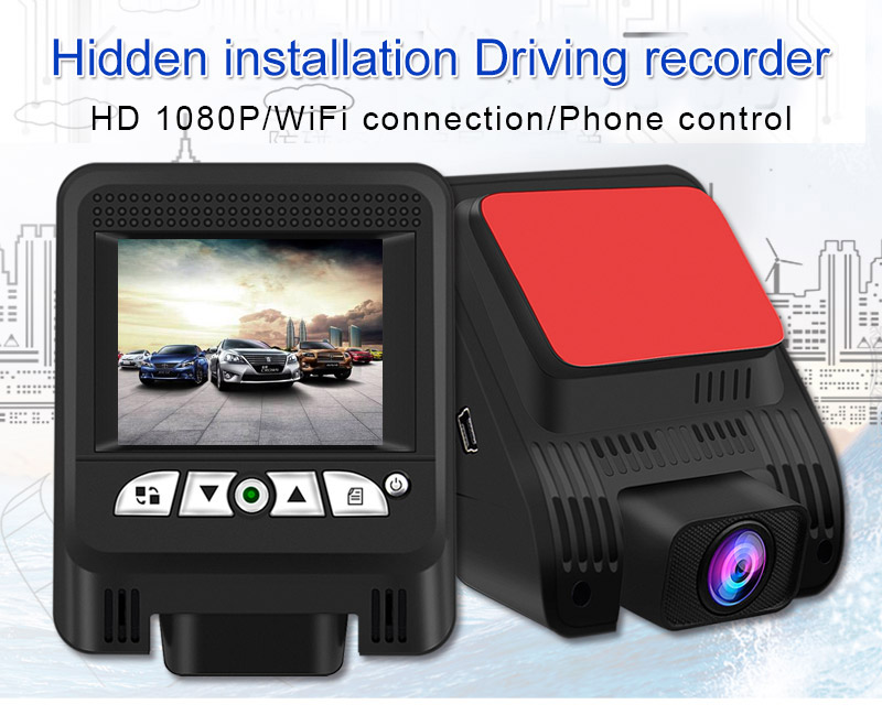 FHD 1080P Novatek 96658 2.31 Inches Wifi Car DVR With Sony 323 Lens
