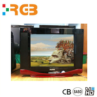 Good Quality small size CRT TV/ 14 17 19 Inch Colorful Televition with Normal flat and pure flat