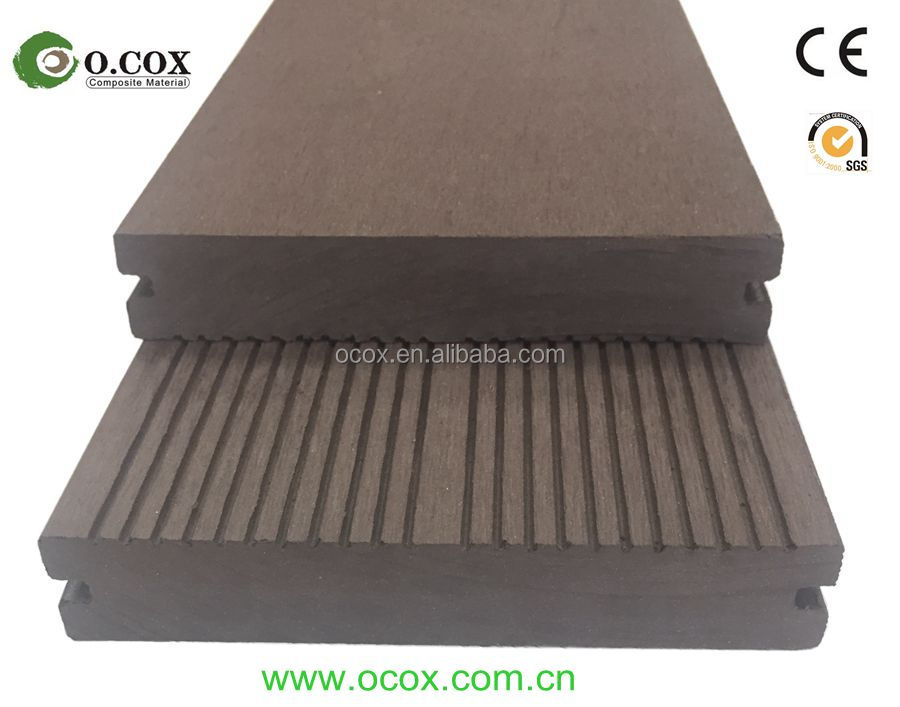 Hot sales competitive price solid composite WPC deck board