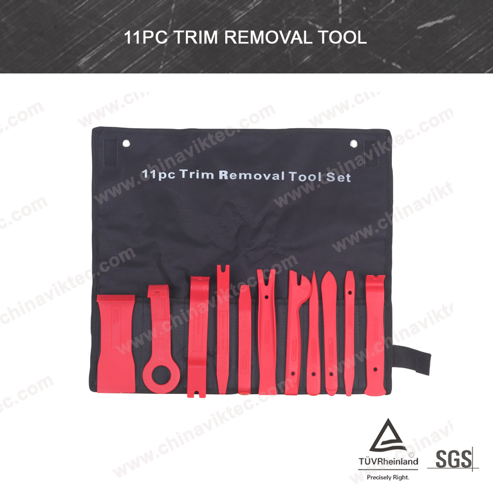 11pcs Car Door Trim Panel Molding Clip Retainer Remover Removal Pry Tool Kit Set (VT01114)