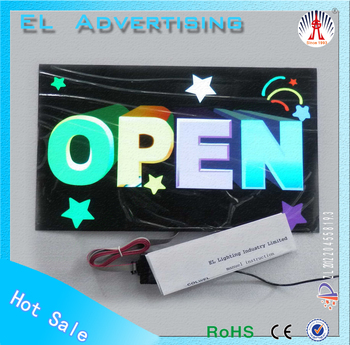 EL flash animated advertisement el poster making technology