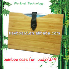Environmental protection bamboo case for ipad air