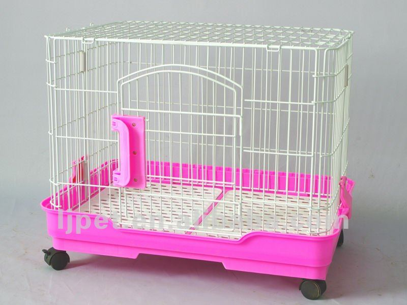 D65, luxury Dog cage, 3 color,Wire Plastic