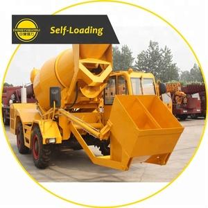 1.0 m^3 Mini Self Loading Concrete Mixer Truck price
