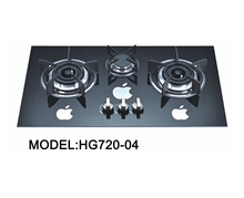 Best reviewed 600*510mm 3 gas burners free standing hob