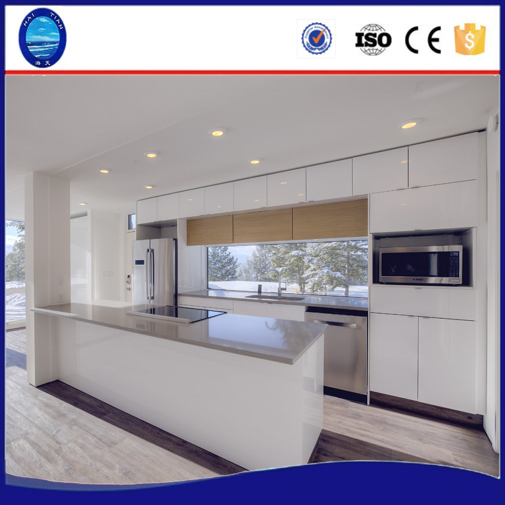 New Zealand Australia standard 2 bedroom with living room kitchen and bathroom furnitures prefabricated modular homes