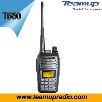 Teamup T550 100 mile police radio walky talky radios long range for sale