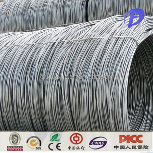 hot rolled swrh high carbon steel wire rod sae 1006 steel sae 1008 5.5mm
