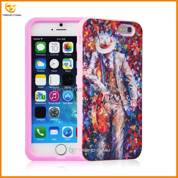 Cell phone hot products mobile imd cover for iphone 6 plus