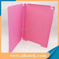 New Ultrathin Four Folio leather Dormancy sublimation Case with Stand For iPad Air 2