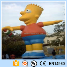 Inflatable cartoon Simpsons advertising of outdoor cartoon inflatable