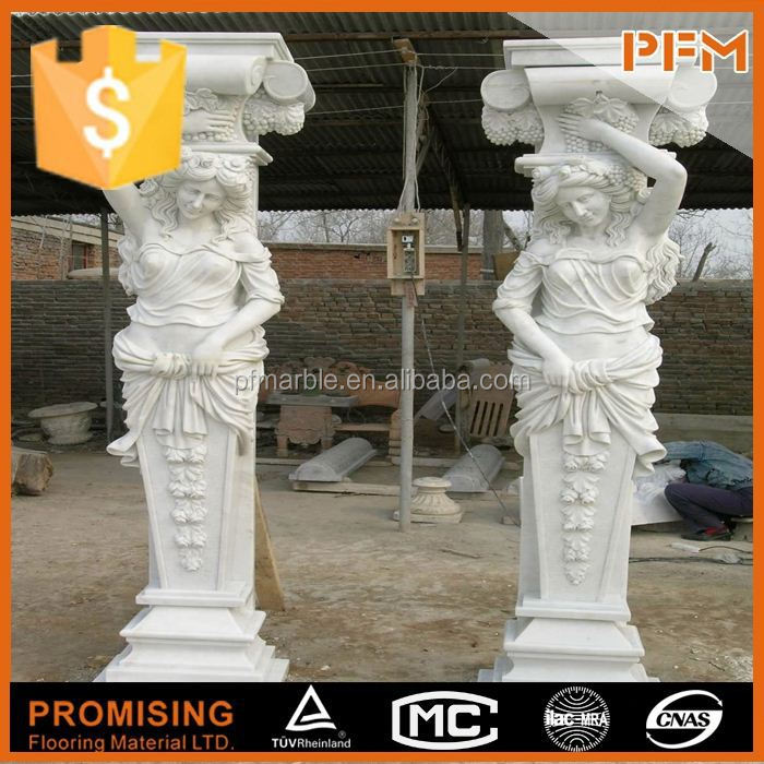 China high quality interior decoration stone pillar price
