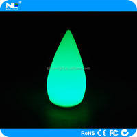 portable LED luminous table lamp / 16 colors changing LED decoration light/waterproof LED bar light