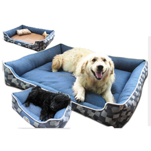 Small Soft Plush Cat Kitten Dog Puppy Luxury Pet Dog Beds With Removable Cushion