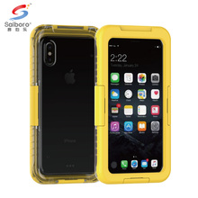 High quality silicone pc water proof phone case for i phone 8,for iphone 8 waterproof cover protective case